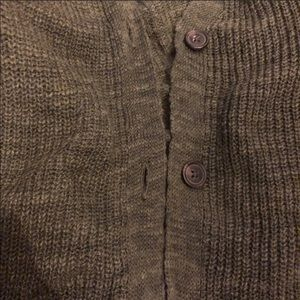 American Eagle Outfitters Sweaters - Army Green Batwing Cardigan
